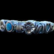 Charmed to Pieces Debutante Biker Bracelet