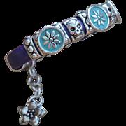 Purple Haze Debutante Biker Bracelet