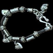 Cowgirl Heart Charm Bracelet