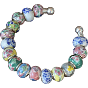 Porcelain 16 Bead Bracelet