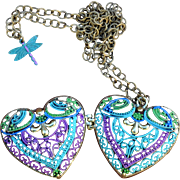 Reversible Chimayo Heart Locket