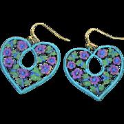 Heart & Butterfly Earrings