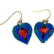 Chimayo Heart Earrings