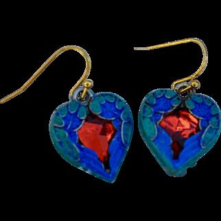 Chimayo Heart Earrings