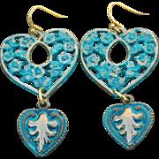 A little extra HEART earrings