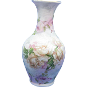 Antique Royal Bayreuth Rose Tapestry Vase