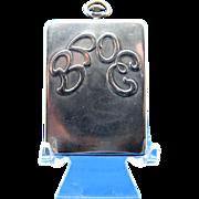 Antique BPOE Card Case, Match Case