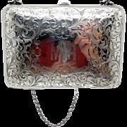 Antique Sterling Ladies Purse, Card Case, Wallet