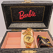 Fossil Charming Barbie Watch MIB COA w Tags - 1994