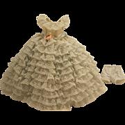 Madame Alexander Cissette #745 Ruffle Gown/Panties