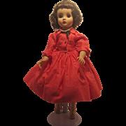 Madame Alexander Brunette ELISE Shirtwaist Salmon Pink Dress