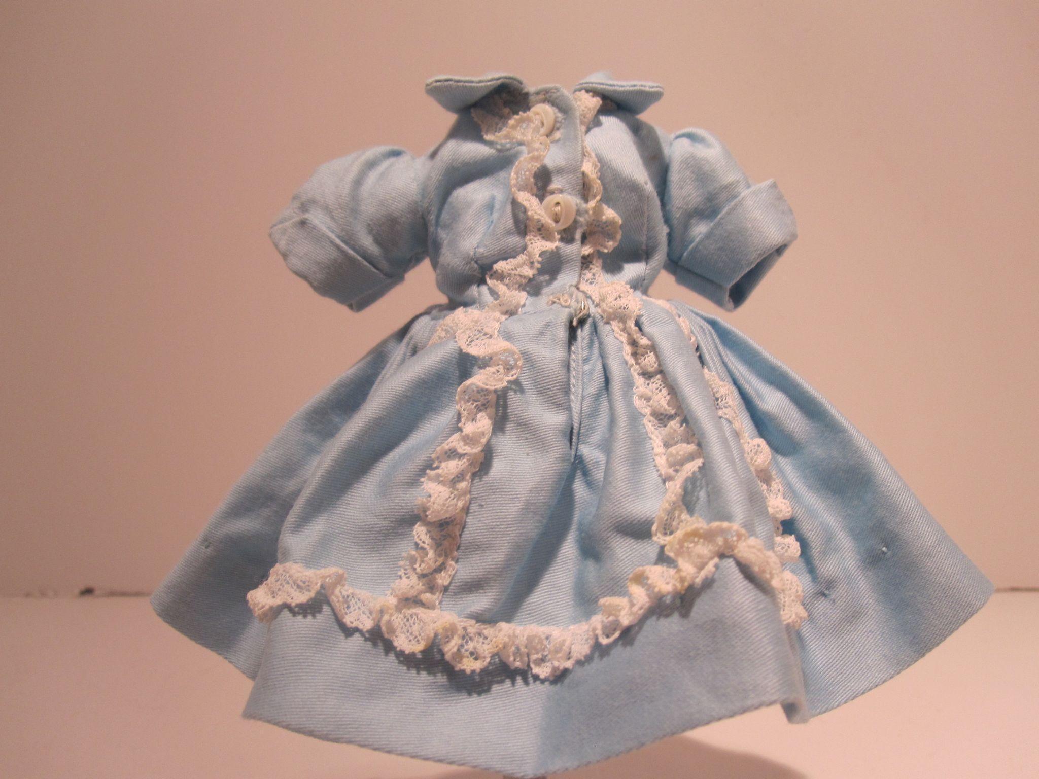Madame Alexander Cissette Dress #930 Aqua Shirtwaist - Excellent