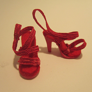 Madame Alexander Cissette Red Shoes - AS IS