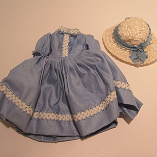 Madame Alexander Cissette Dress and Hat #810 - Minty Condition