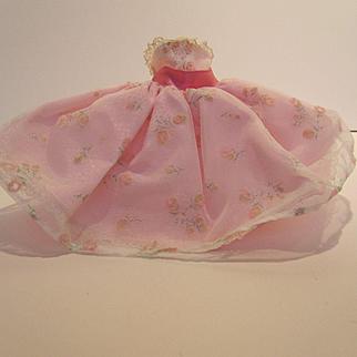Vogue Jill Strapless Pink Dress #3140