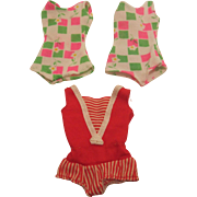 Mattel Francie and Skipper Swimsuits