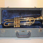 Vintage Trumpet Made by HUTTL  - Western Germany