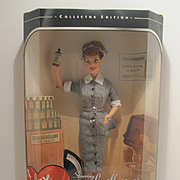 I Love Lucy Mattel Barbie Doll ~ Lucy Does A TV Commercial ~1997 ~ NRFB
