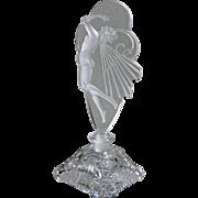 Czech Crystal Butterfly Lady Perfume Bottle