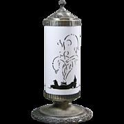 Early Art Deco DeVilbiss Perfume Lamp
