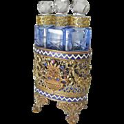 Austrian Jeweled Perfume Tantalus