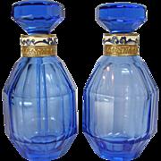 Austrian Pair of Perfume Bottles 1920-30s