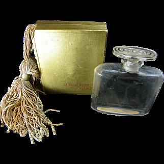 French Perfume Bottle Caron Le Tabac Blonde