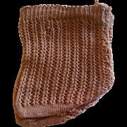 """3"""" Jumeau Style Light Brown Socks"""