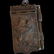 Tiny Ornate Souvenir Case with Pictures Of Paris Landmarks