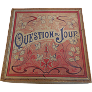 """Doll Size French Game """"Question Du Jour"""""""