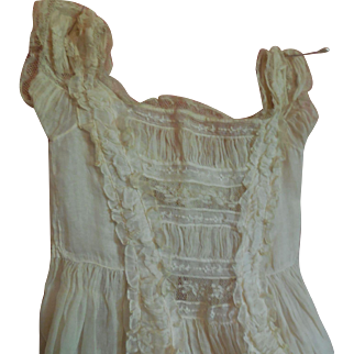 Ornate Christening Gown