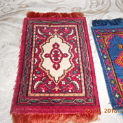 3  Small Doll House Rugs