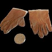 Leather Jumeau Gloves