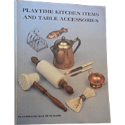 Playtime Kitchen Items and  Table Accessories Reference Book