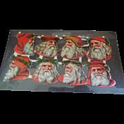 8 Old Santa Scraps