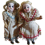 "4 3/4"" Little Sisters made by Gebruder Kuhnlenz"
