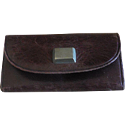 """French Fashion Calling Card Case 2 3/8"""" Wide"""