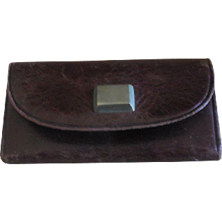 "French Fashion Calling Card Case 2 3/8"" Wide"