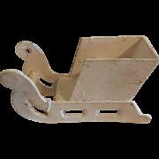 "5"" Cardboard Sleigh for Santa and Reindeer"