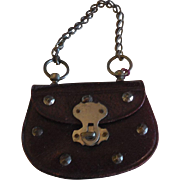 French Fashion Purse with Cut Steel Decorations