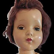 """20"""" Vintage R&B Arranbee Hard Plastic Doll"""