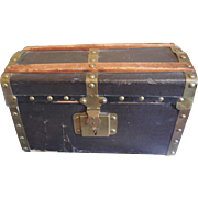 """12"""" French trunk for Antique Bebe Jumeau Steiner"""
