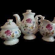 "15 Pc Tea Set with 5 1/2"" Teapot  Doll Size"