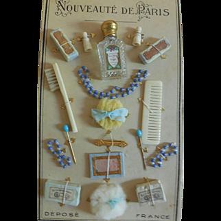 Nouveaute de Paris Accessory Card for French Fashion