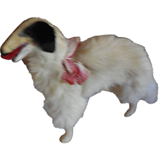 "6"" Tall Borzoi Russian Wolfhound Dog for French Fashion"