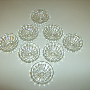 Vintage Pedestal Ice Cream Sundae Dishes ~ Set of 8