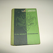 Girl Scout Handbook  ~ 20th Edition ~ 1959