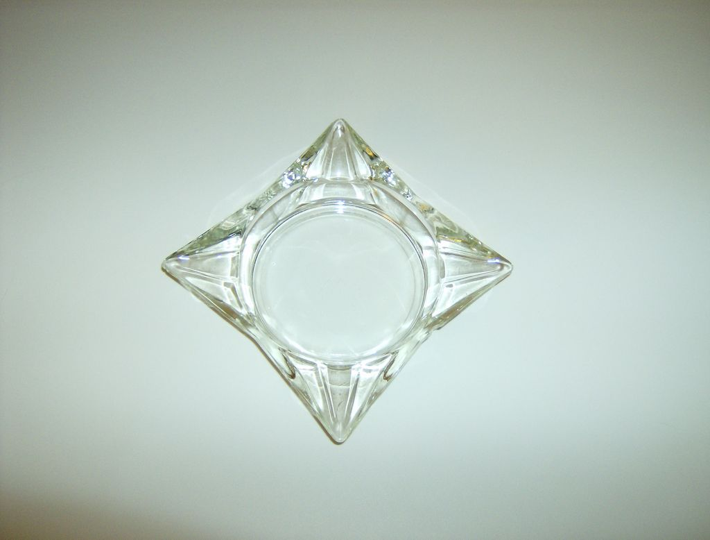 Crystal Star Glass Ashtray