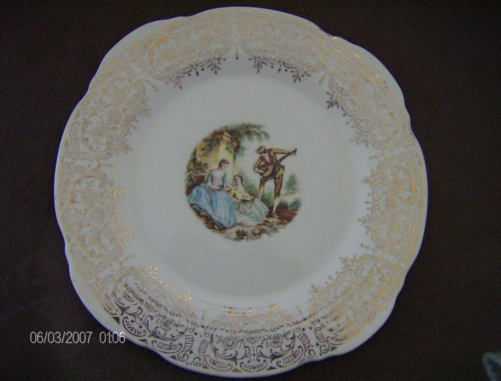 Triumph American Limoges Serenade Plate