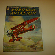 Popular Aviation ~ Magazine ~ February 1936 - Red Tag Sale Item